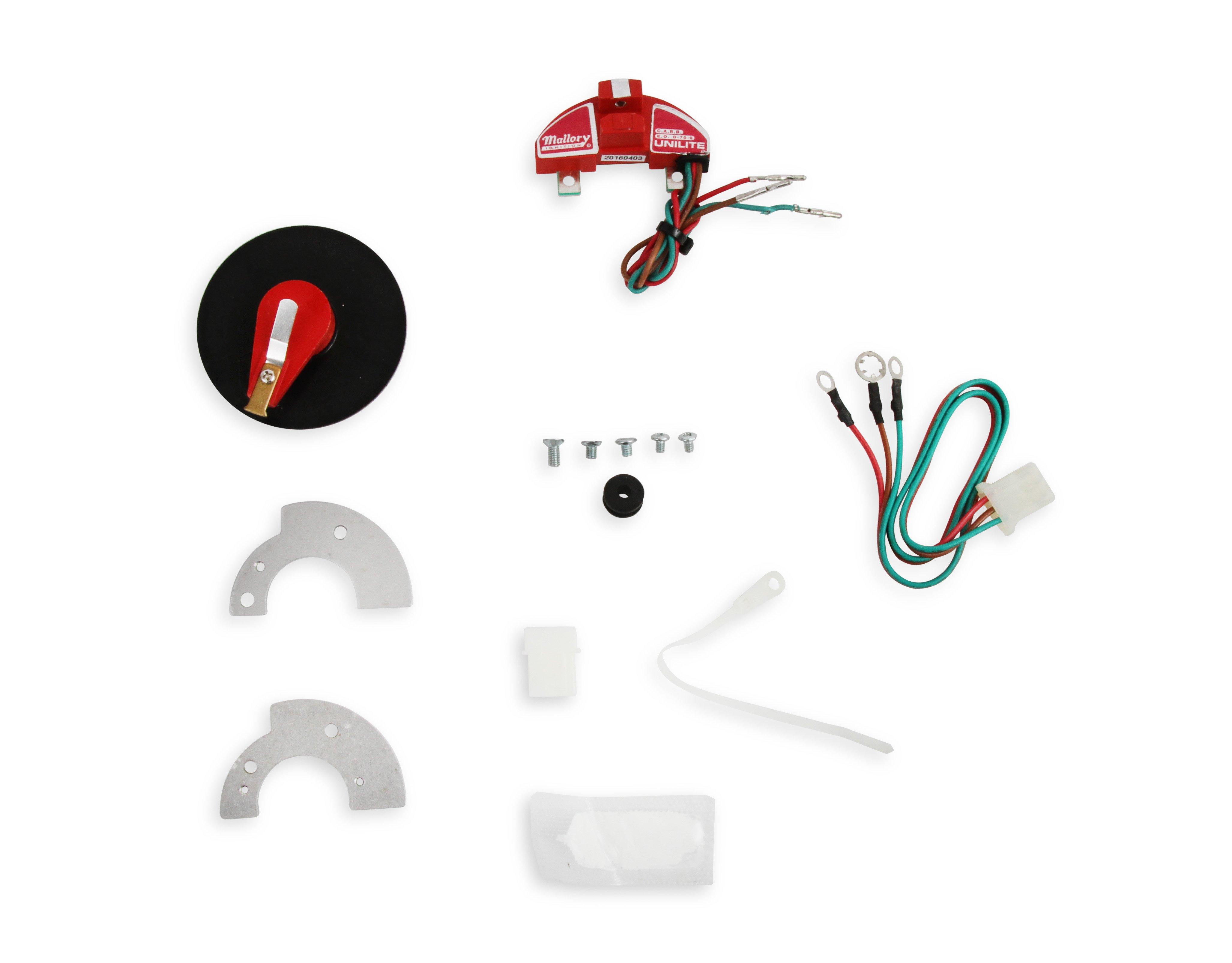 Mallory 502M Unilite Conversion Kit Automotive Performance Parts ...