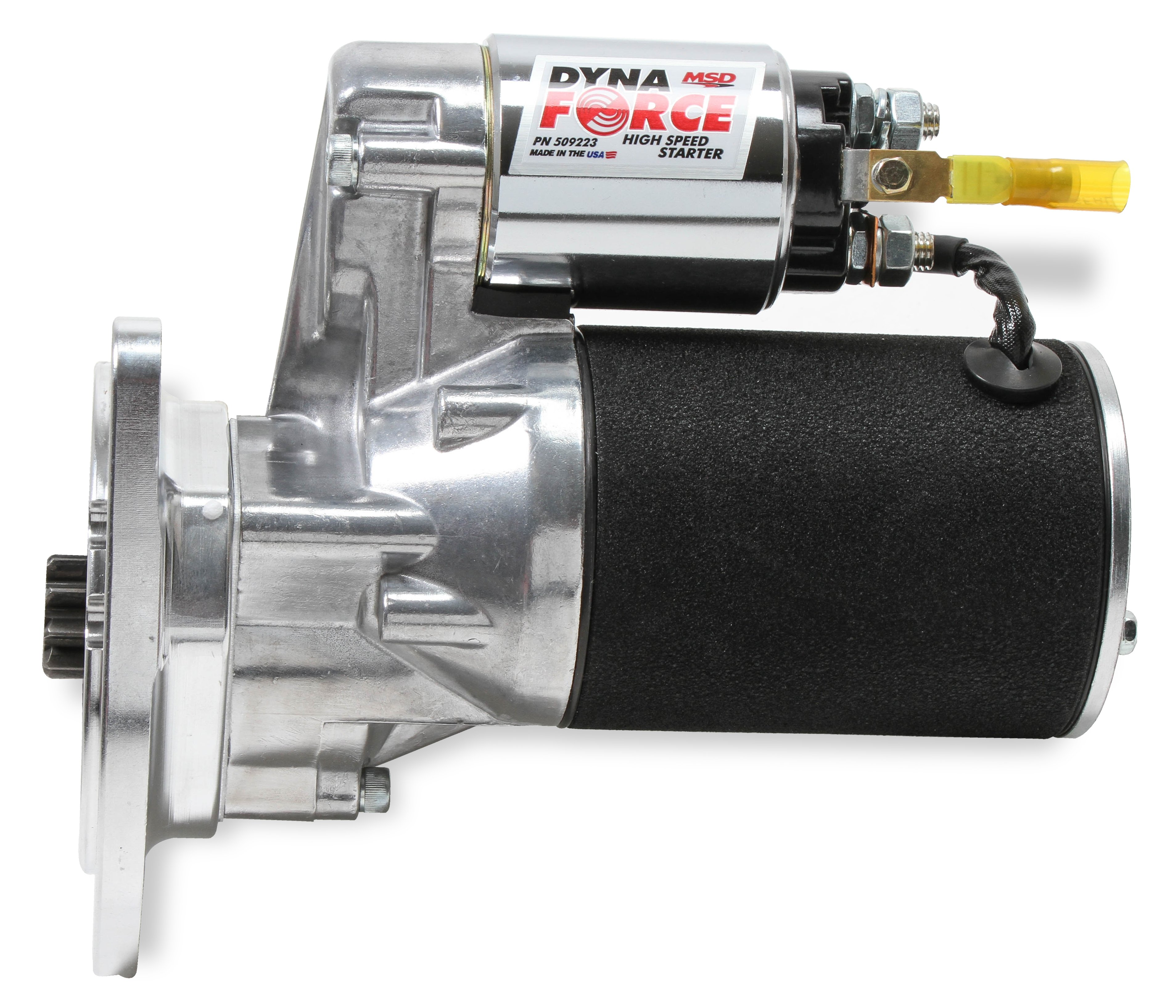 MSD Black DynaForce Starter - Ford 351M, 400, 429 and 460 cubic inch engines