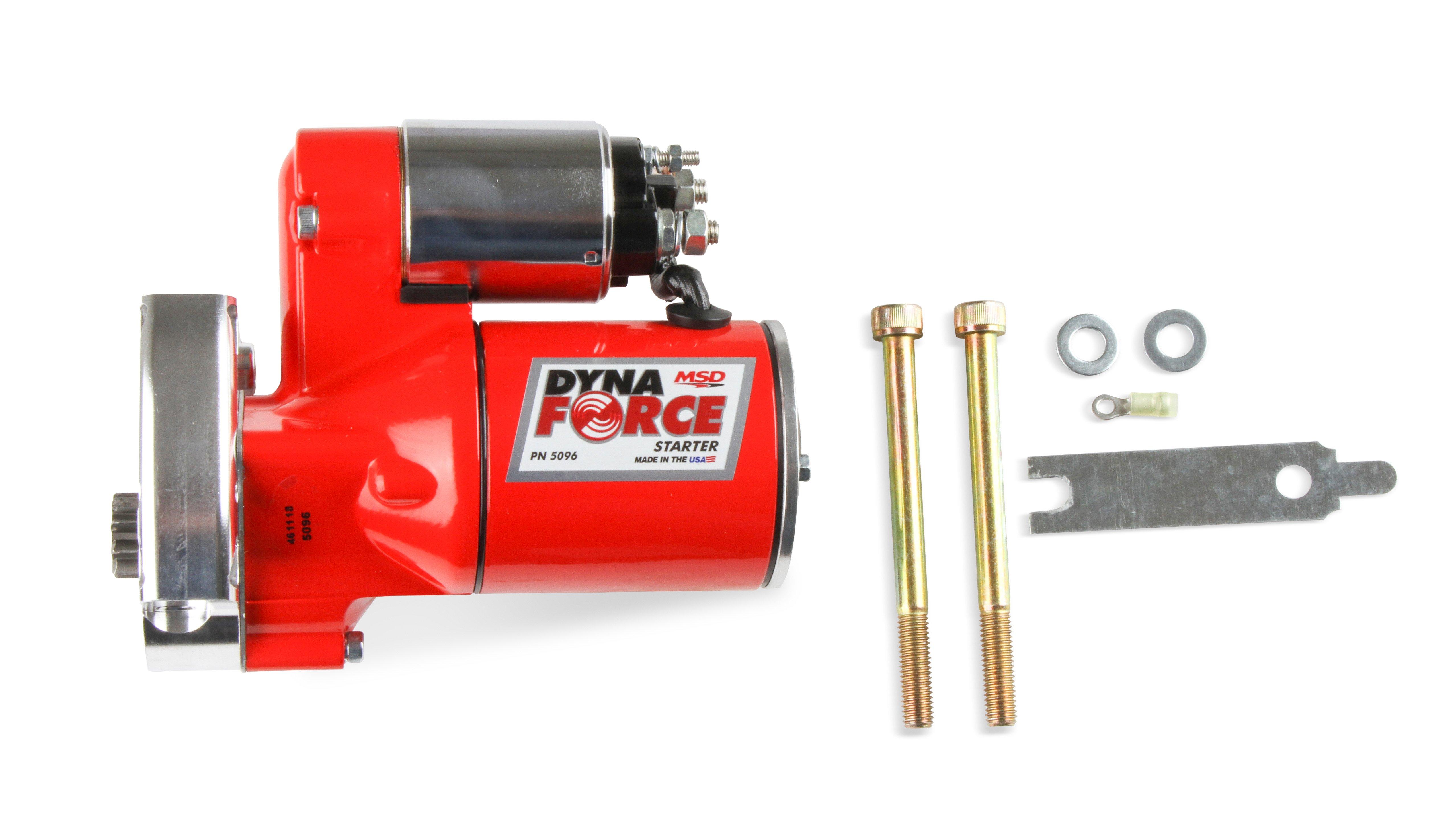 MSD Red DynaForce Starter - GM LS1-LS7 Engines
