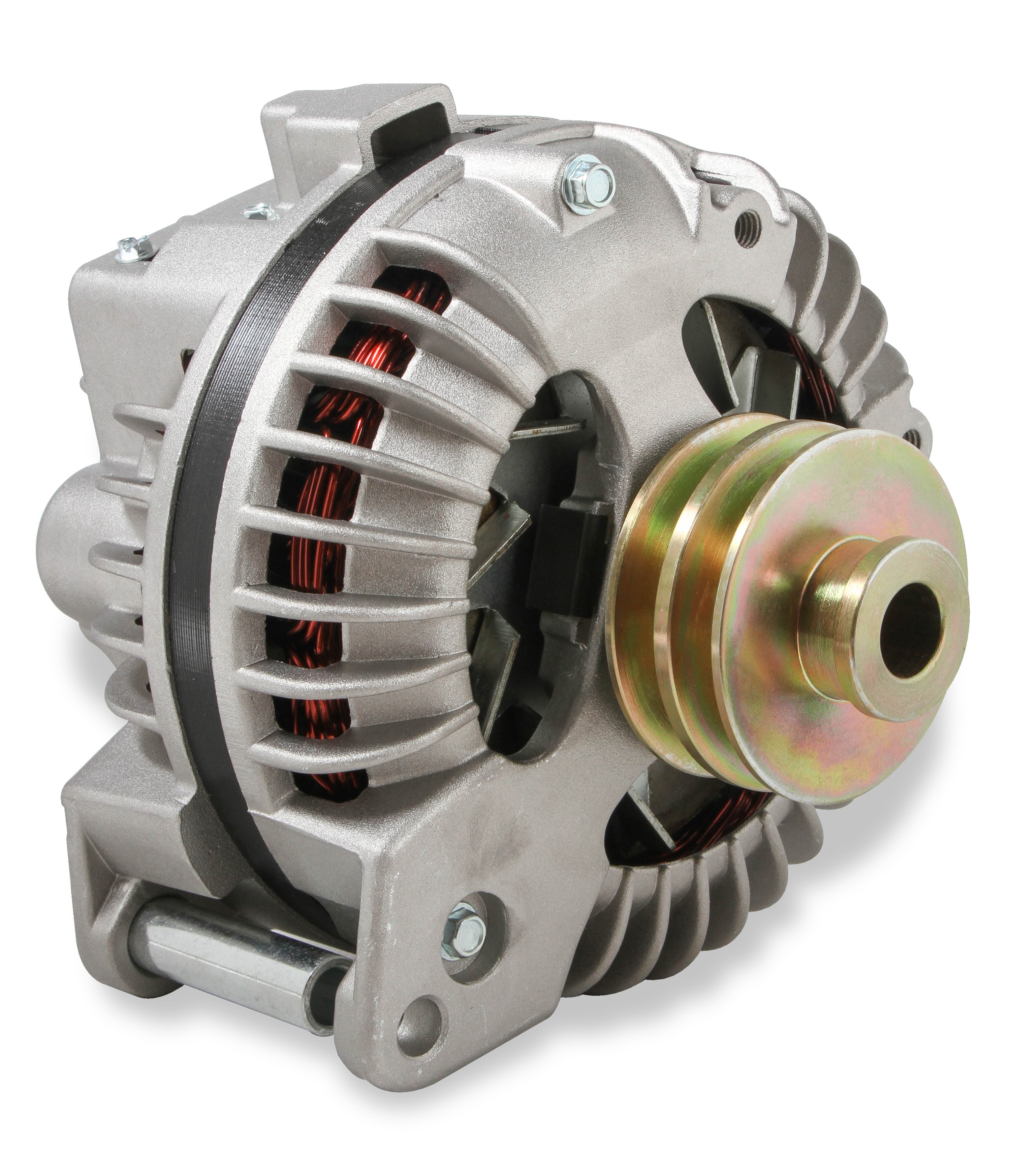51261NG - Alternator - Chrysler 1960-88 - 100 AMP - Natural Finish Image