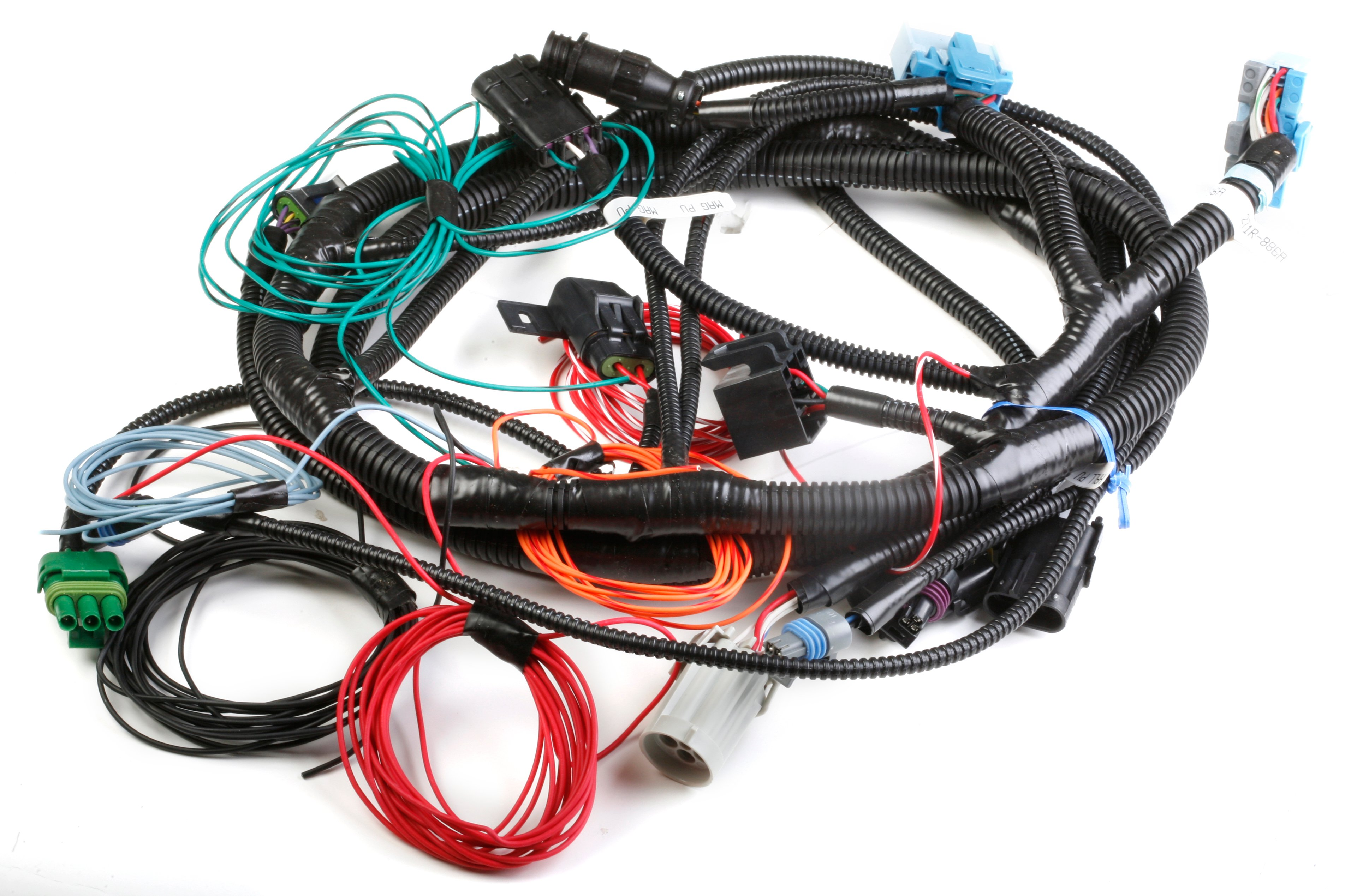 holley 534 148 lts replacement main wiring harness. Black Bedroom Furniture Sets. Home Design Ideas