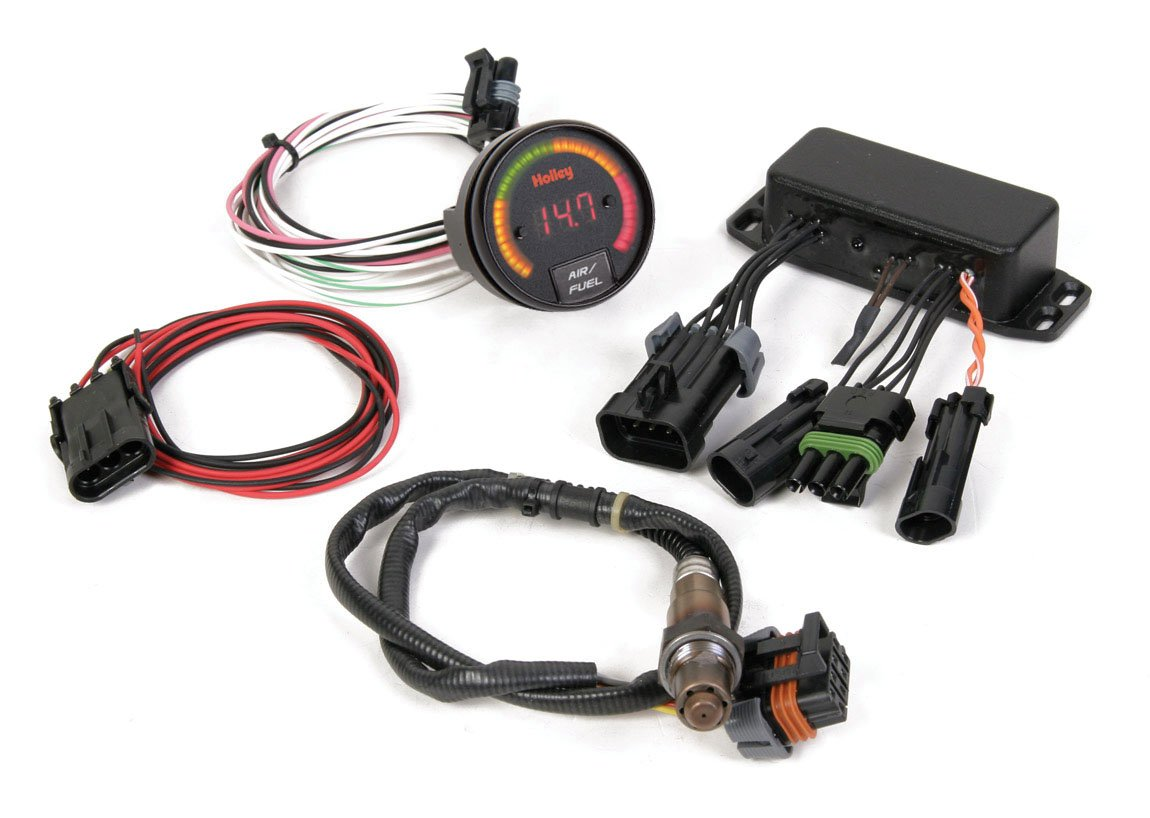 Holley 534 201 Wideband 02 Controller Wide Band Fuel Mixture Display Image