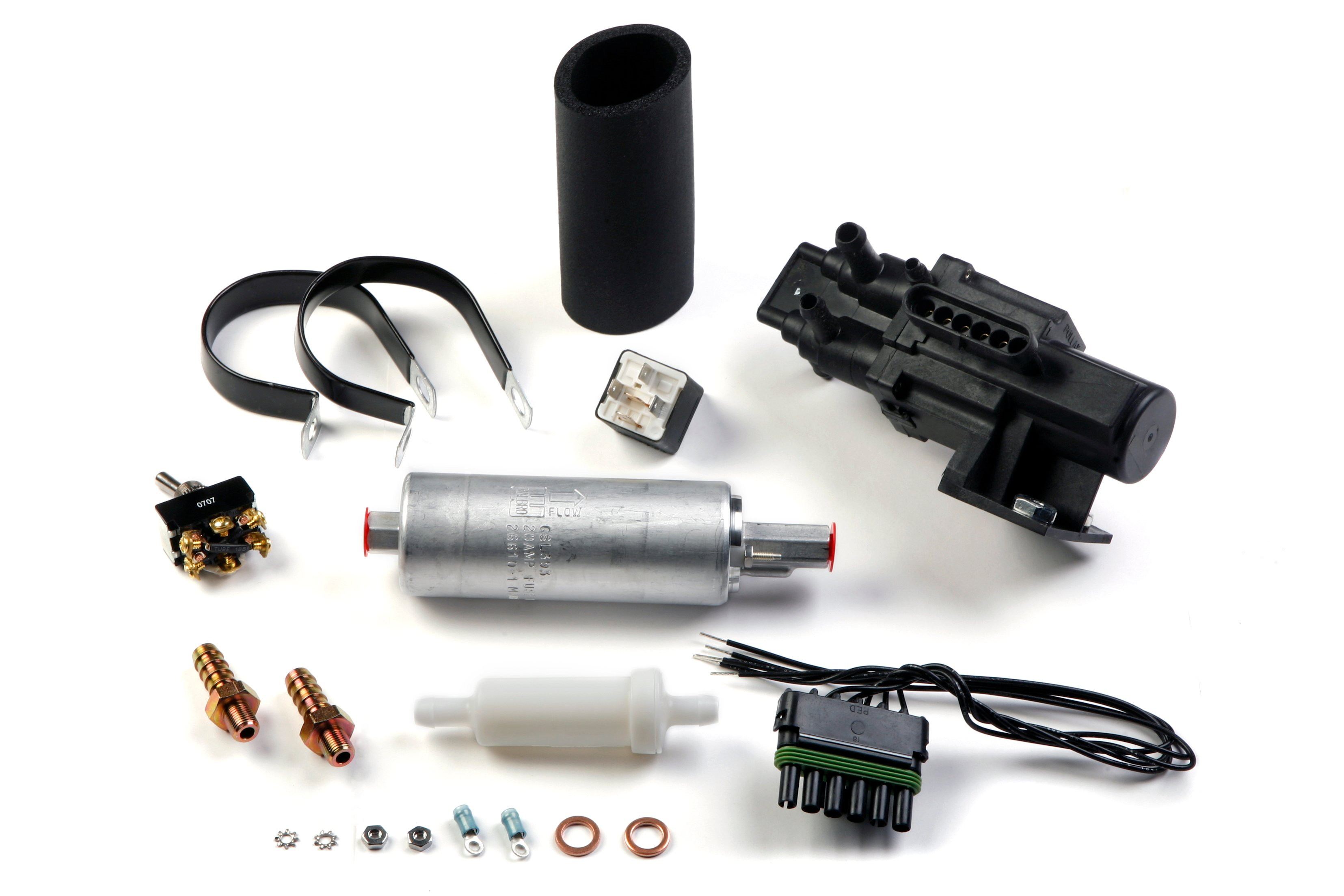 Holley 534 37 Dual Tank Fuel Pump Kit Wiring Image