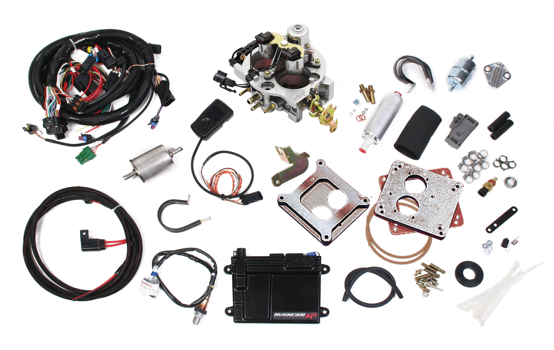 550-200 - Avenger EFI 2bbl Throttle Body Fuel Injection System Image