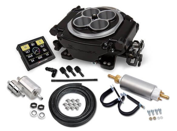 Holley Sniper EFI Self-Tuning Master Kit - Black Ceramic Finish