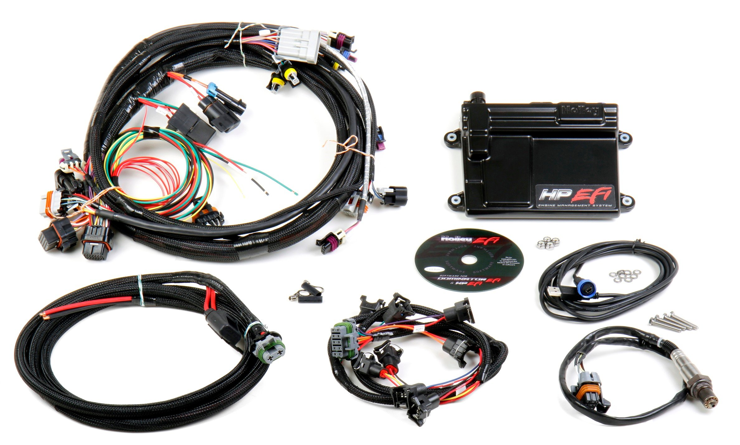 550 602 holley efi 550 602 hp efi ecu & harness kits holley ls wiring harness at bakdesigns.co