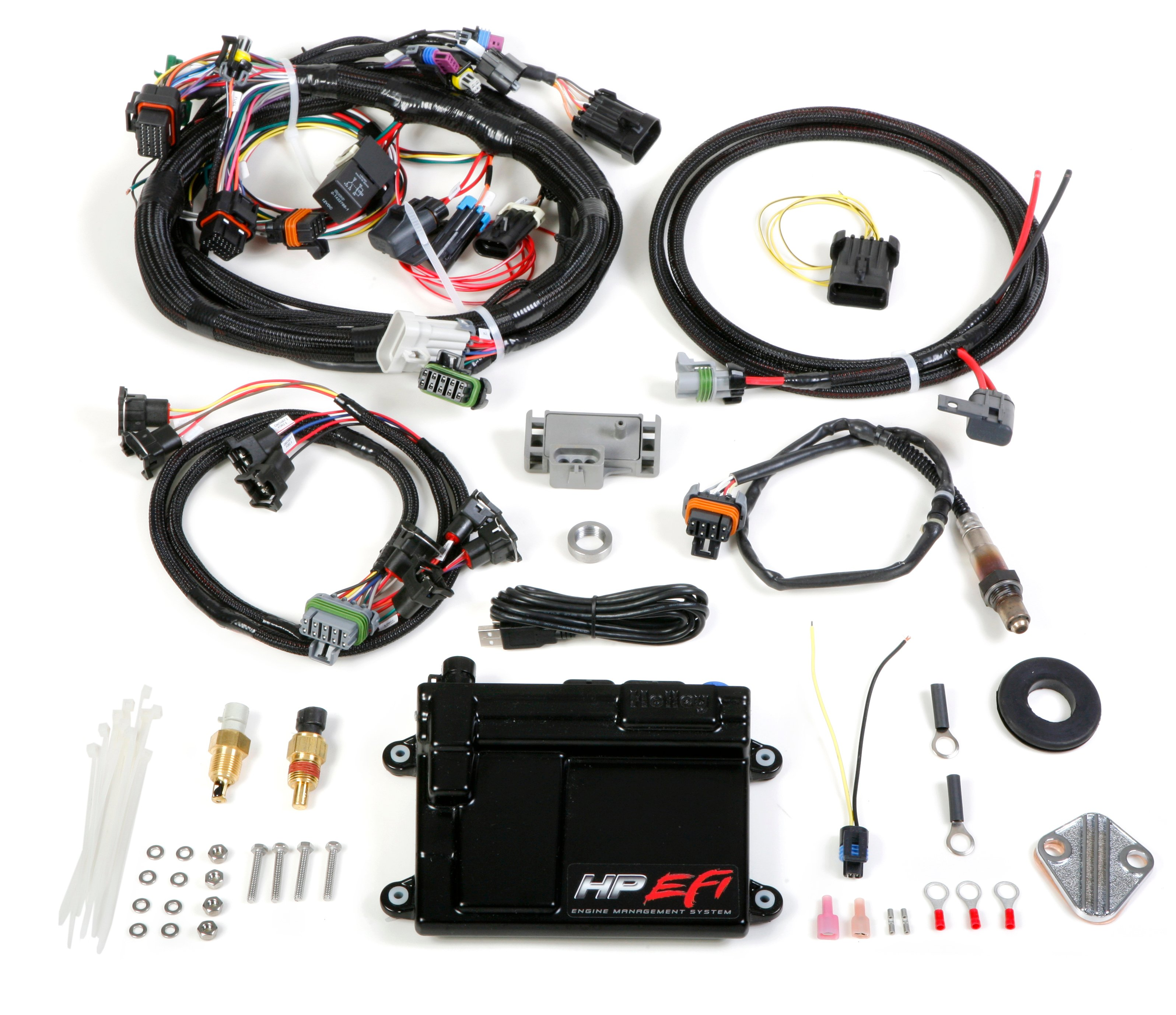 Holley Efi 550 604 Hp Ecu Harness Kits Wiring Diagram Image