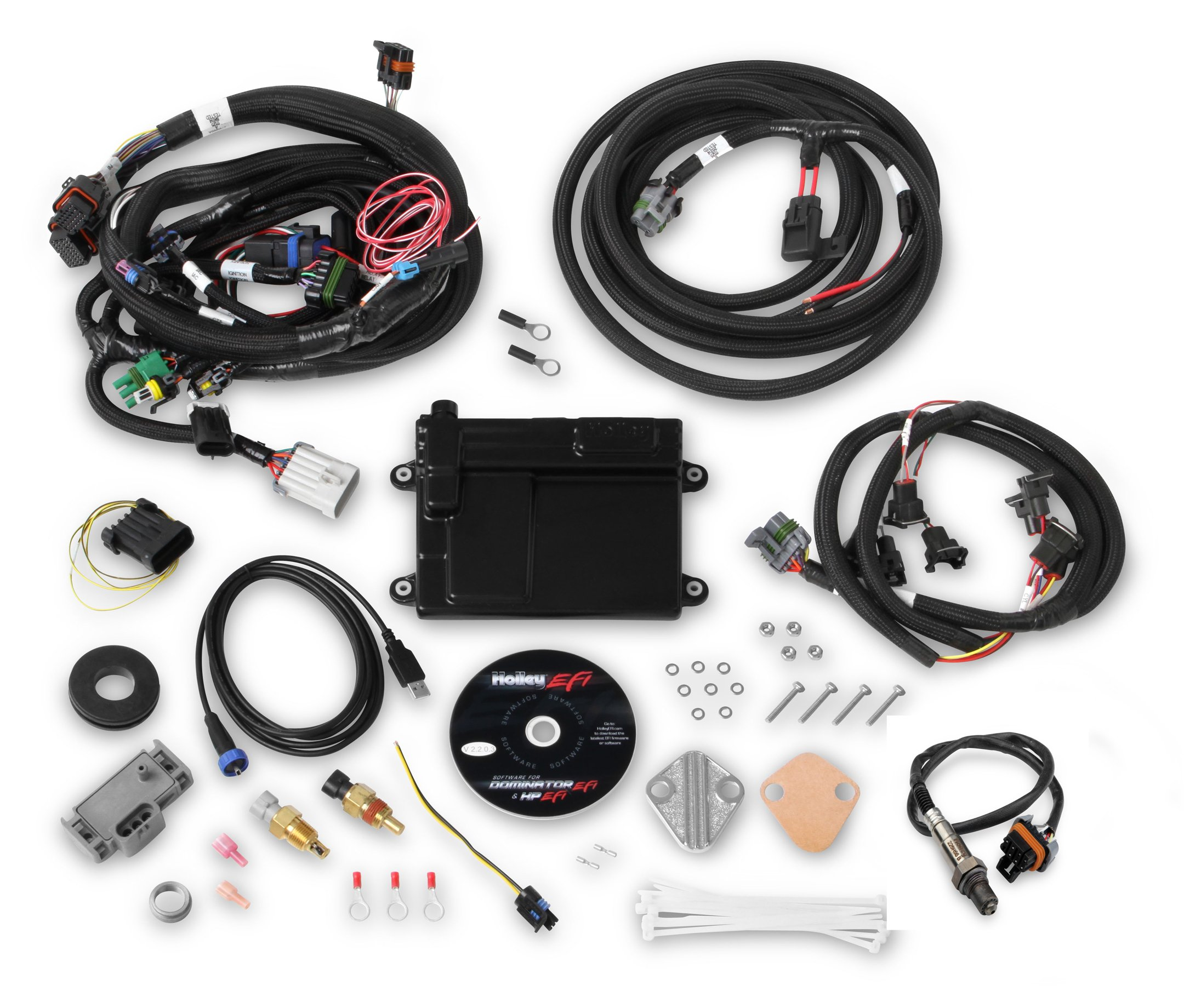 Holley EFI 550-606 HP EFI ECU & Harness Kits on ford door switch wiring diagram, ford dash gauge pod, ford f-250 ignition wiring diagram,
