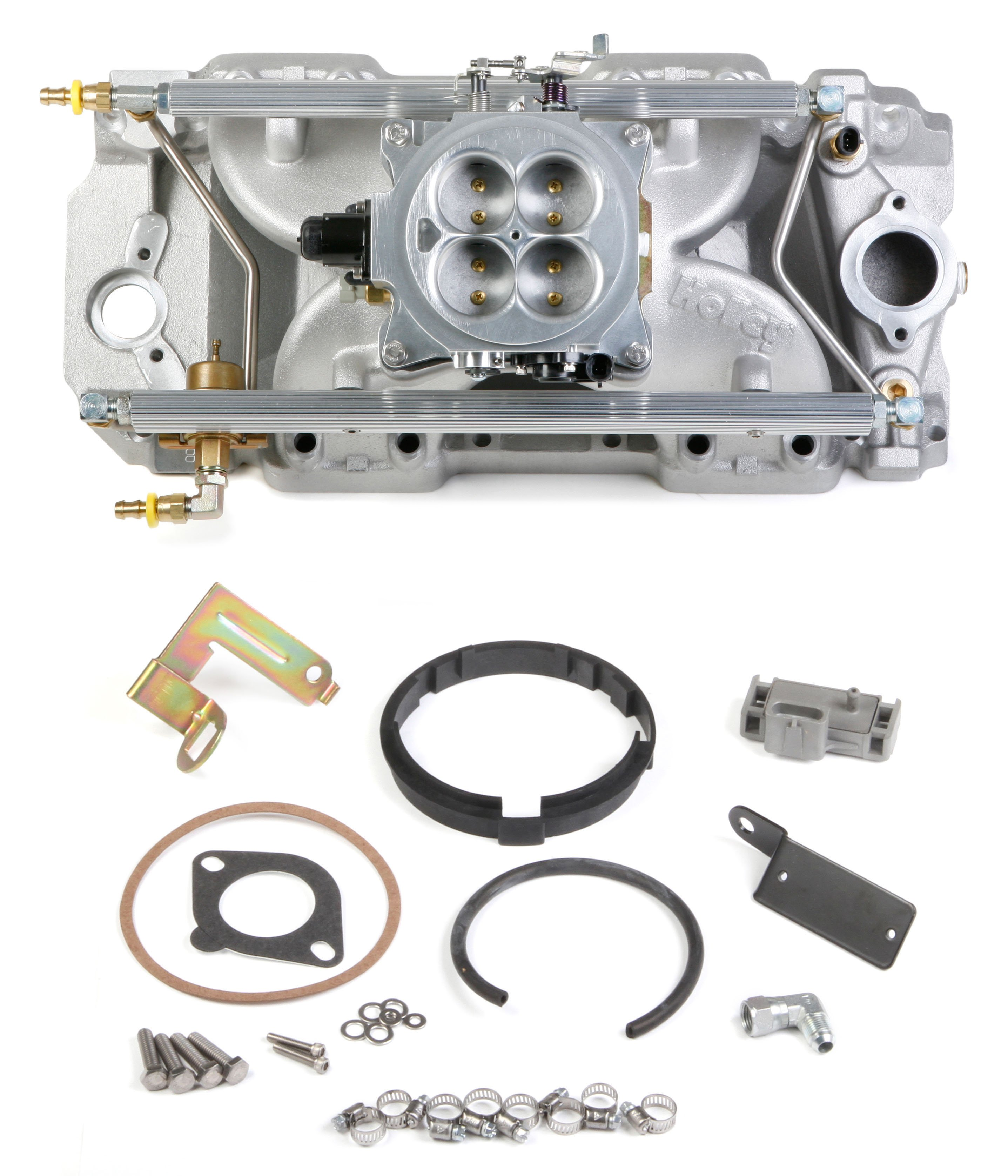 Power Pack Kits Holley Performance Products Chevy 327 Steering Ckets Big Block Multi Port Kit For Tall Deck Rectangular Heads