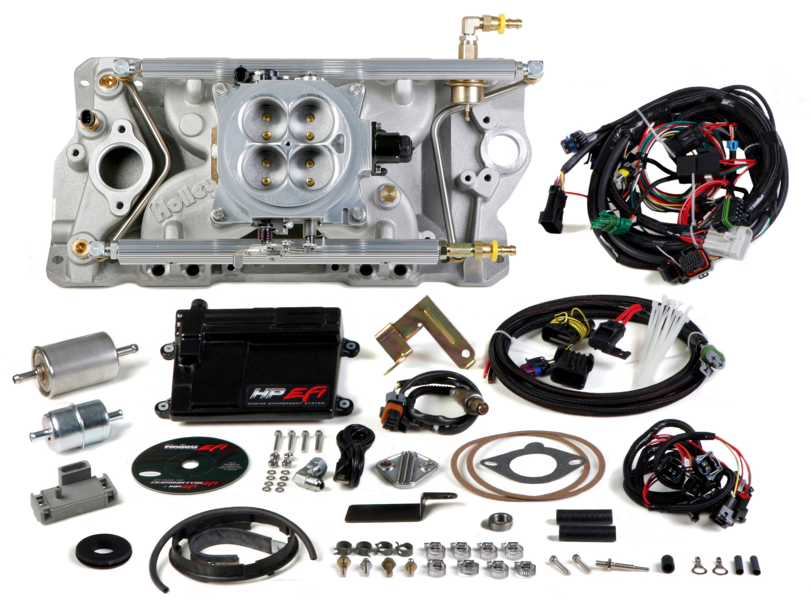 550-810 - HP EFI 4bbl Multi Port Fuel Injection System Image