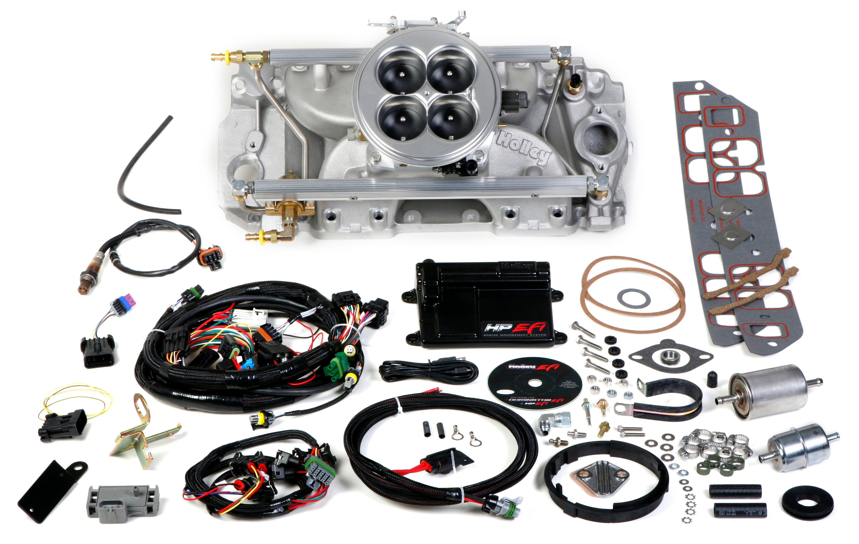 Holley EFI 550-838 HP EFI 4bbl Multi-Port Fuel Injection ...