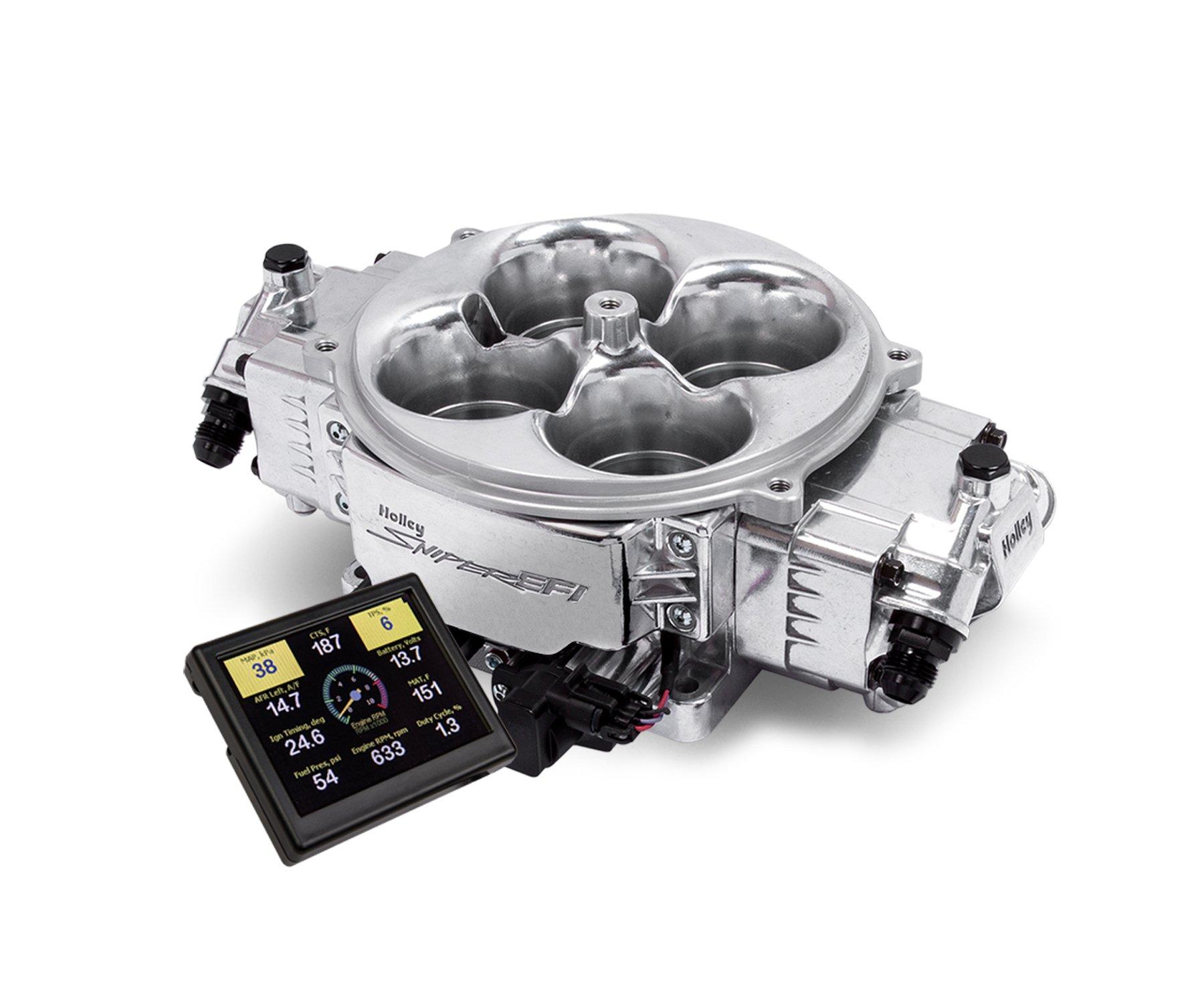 Holley Sniper Efi 550 841 Stealth 4500 Shiny Finish 5v O2 Sensor Circuit Using Lm3914 Led Display For Car Airfuel Mixture Image