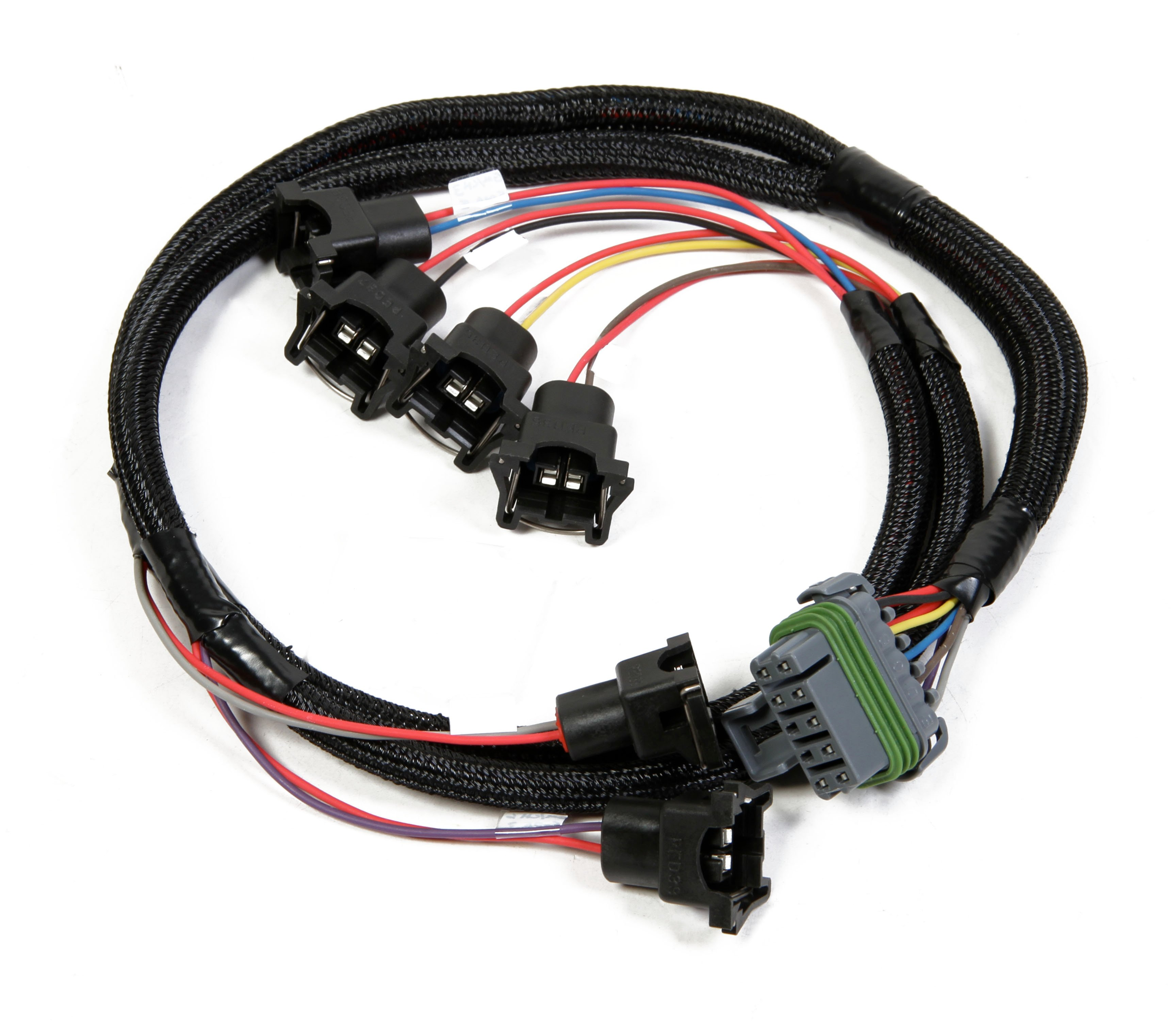 Holley Efi 558 203 Universal 6 Cylinder Injector Harness Fast Wire Image