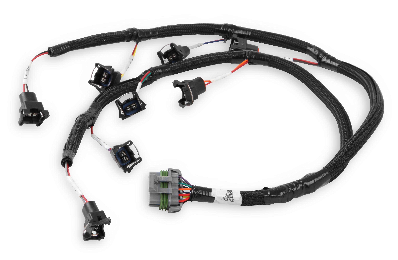 Holley Efi 558 470 Ford 4r70w 4r75w Transmission Control Harness Wire V8 Injector