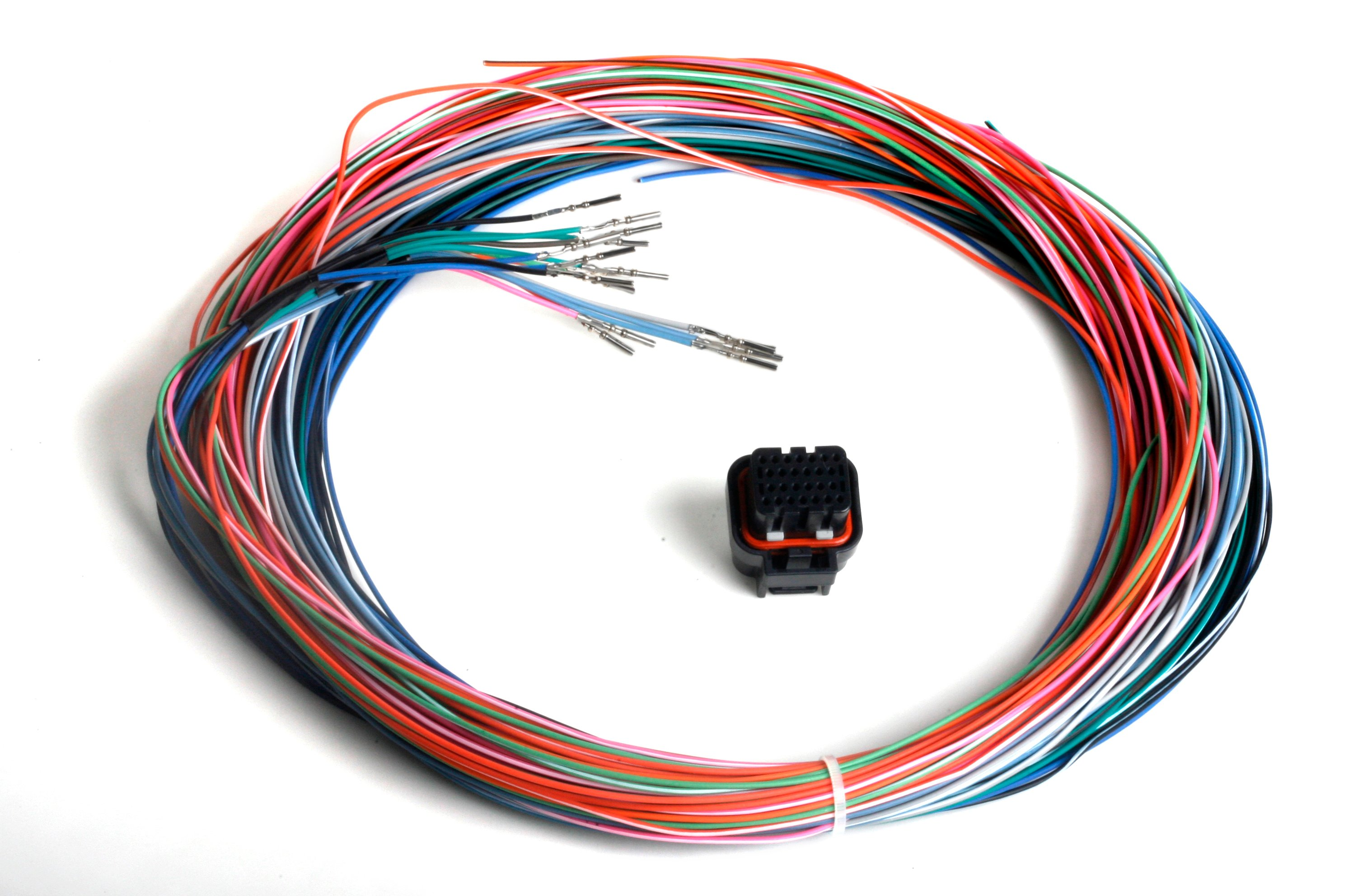 Harnesses - Holley Performance Products on three wire trailer harness, five wire trailer harness, 4 wire plug connector, 7 wire trailer harness, 6 wire trailer harness, wiring harness,