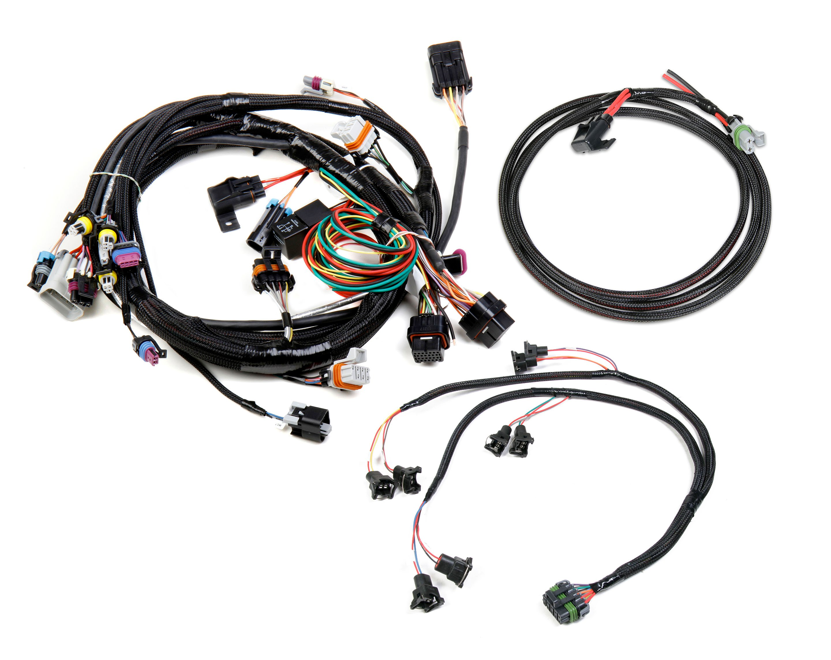 holley efi 558 500 gm ls 24x efi harness kit rh holley com Wiring Harness for Choppers Ford Wiring Harness