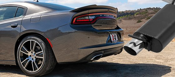 Hurst Elite Charger Exhaust
