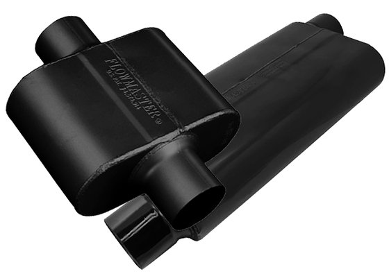 "Flowmaster 13009130 Pro Series Outlaw Round Race Muffler 3/"" Inlet 3/"" Outlet"