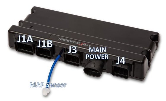 "j1a - main harness connector - this connector is primarily an ""input""  connector  it contains all the sensor inputs and wide band oxygen sensor  control"
