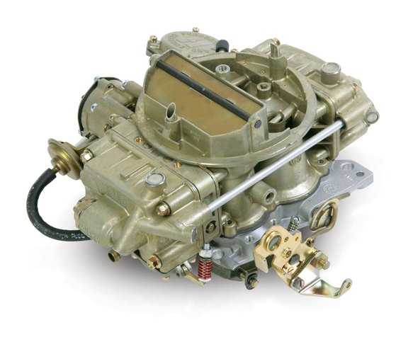 0-80555C - 650 CFM Classic Holley Carburetor-Spreadbore Design Image