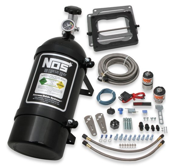 02102BNOS - NOS Big Shot Wet Nitrous System for 4500 4-barrel Carburetor Image