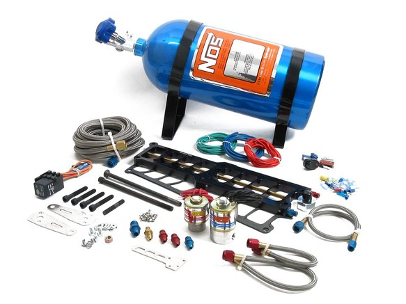 02119NOS - NOS Systemax Big Shot Wet Nitrous System for 1986-1995 Ford 5.0L Engine Image