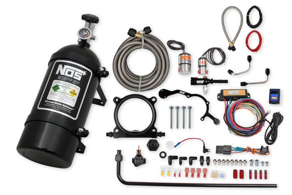 02126BNOS - NOS complete wet nitrous system for 2015-2017 Mustang with 5.0L Coyote Engine-Black Image