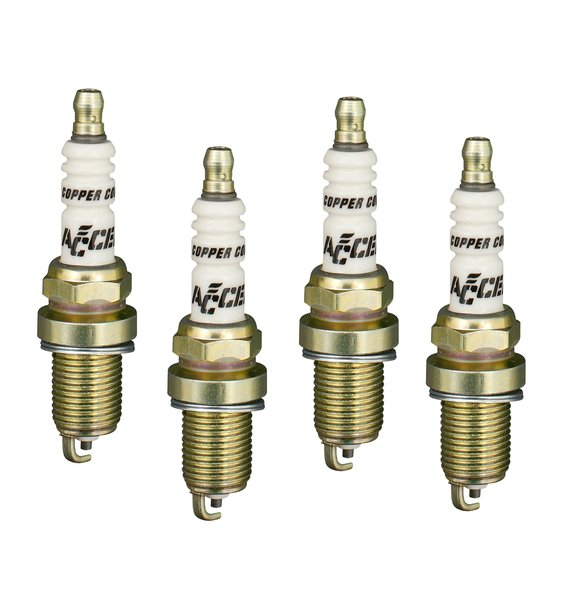 0416S-4 - Spark Plug - 14mm Thread -  Shorty - .750 in. Reach - 4-Pack Image