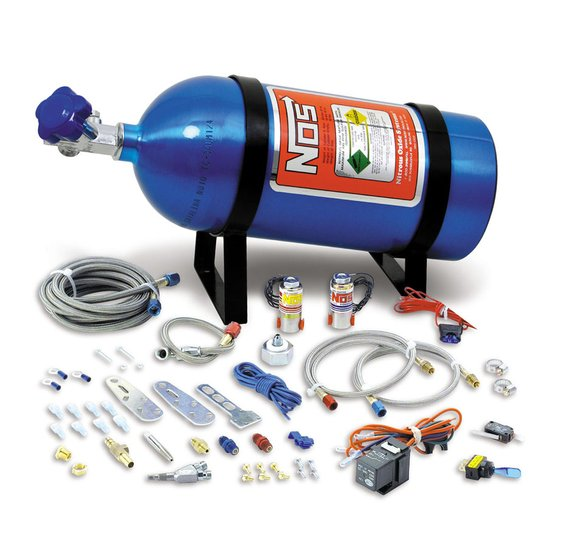 05130NOS - NOS Single Fogger Wet Nitrous System - Multi-Fit Image