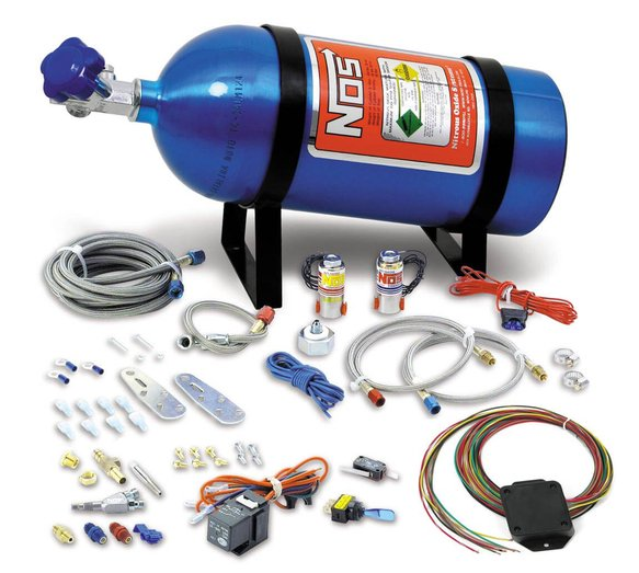 05135NOS - NOS Single Fogger Wet Nitrous System - Multi-Fit Image