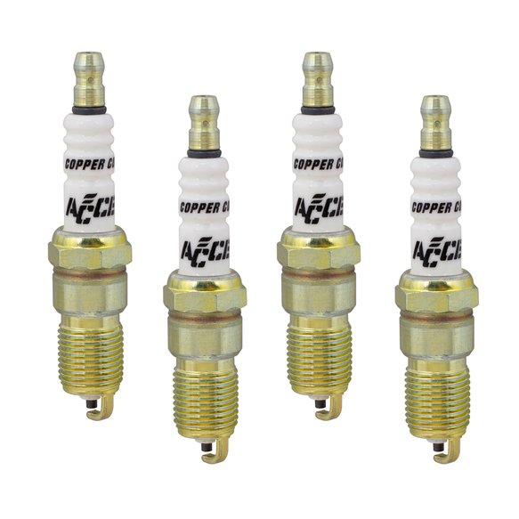 0514-4 - Spark Plug - 14mm Thread - .708 in Reach -  Heat Range 4 - 4 Pack Image