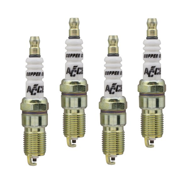 0516-4 - Spark Plug - 14mm Thread - .708 in Reach -  Heat Range 6 - 4 Pack Image