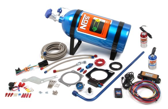 05160NOS - NOS Plate Wet Nitrous System - GM Image