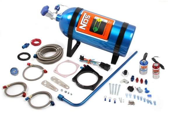 05162NOS - NOS Plate Wet Nitrous System - GM Image