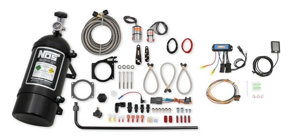 05164BNOS - NOS Plate Wet Nitrous System - GM Image