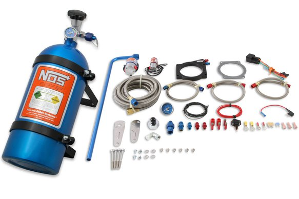05164NOS - NOS Plate Wet Nitrous System - GM Image