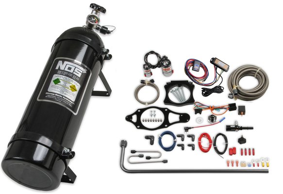 05166BNOS - NOS Plate Wet Nitrous System - GM Image