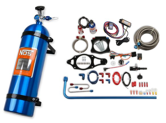 05166NOS - NOS Plate Wet Nitrous System - GM Image