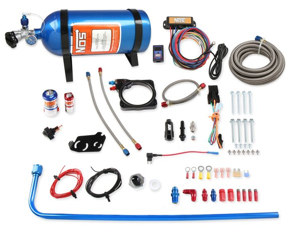 05183NOS - Complete Wet Nitrous Kit 2005-2008 Dodge Charger, Magnum, and Chrysler 300C with 5.7L Hemi Image