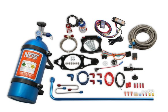 05218NOS - NOS Plate Wet Nitrous System - GM Image
