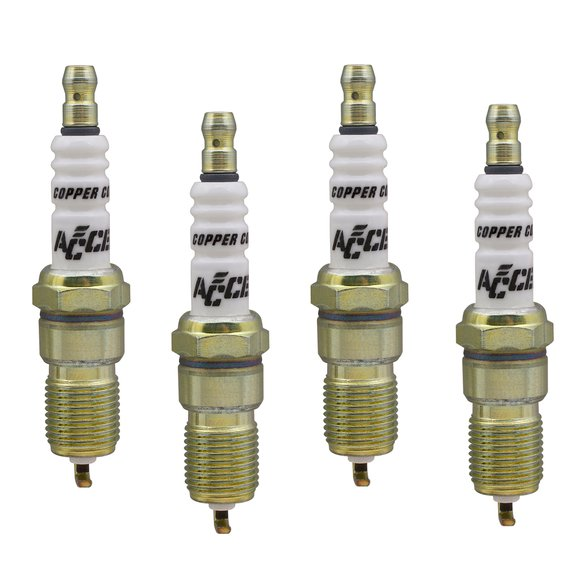 0524-4 - Spark Plug - 14mm Thread - .708 in Reach -  Heat Range 4 - 4 Pack Image