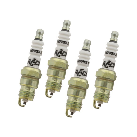 0574S-4 - Copper Spark Plug - .460 in Reach - Heat Range 5 - Tapered Seat - 5/8 Hex Image