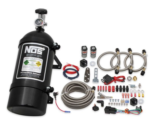 06019BNOS - NOS Single Fogger Wet Nitrous System - Ford Image