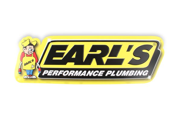 10000ERL - Earl's Metal Sign Image