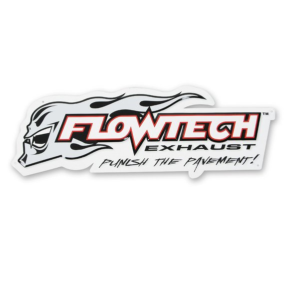 10000FLT - Flowtech Metal Sign Image