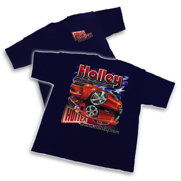 10006-SMHOL - Navy Blue Holley Camaro Re-Birth T-Shirt (Small) Image