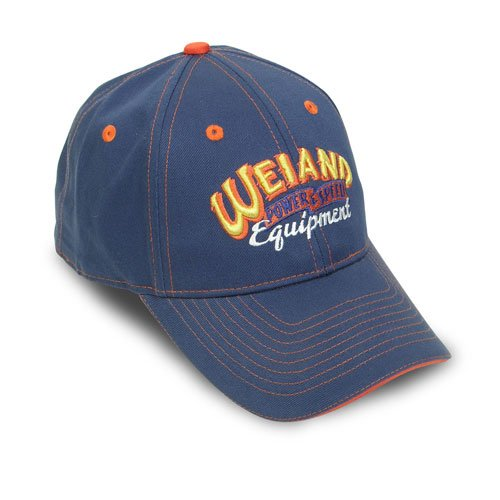 10007WND - Weiand Blue Cap with Weiand Equipped Logo Image