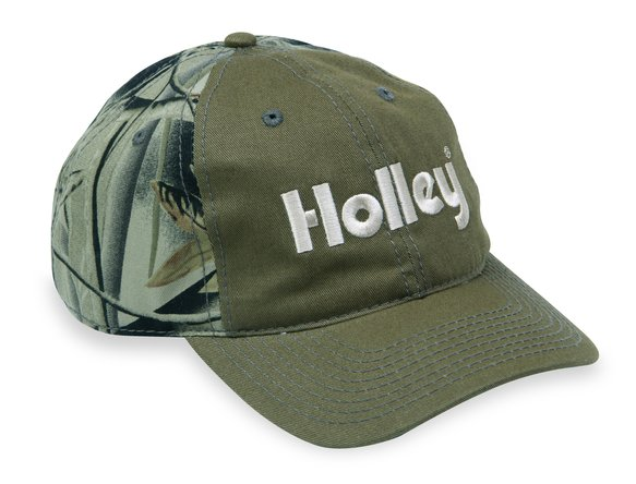 10018HOL - Holley Green & Camouflage Cap Image