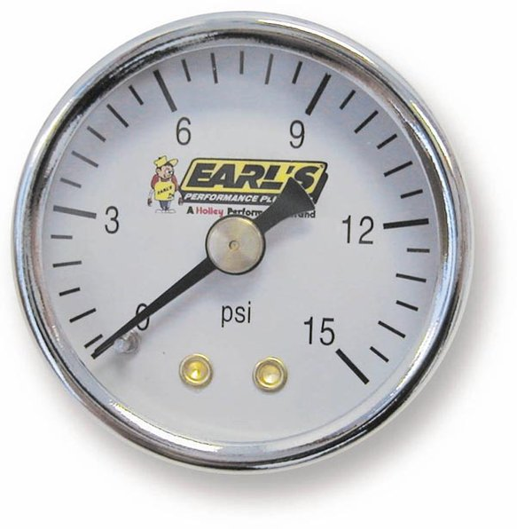 100195ERL - Earls Fuel Pressure Gauge Image
