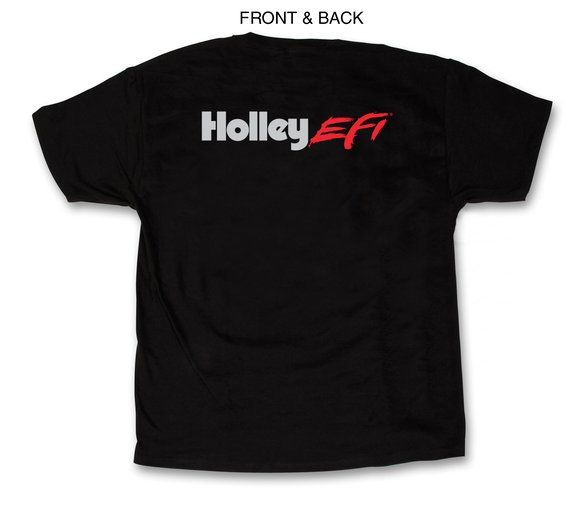 10021-XLHOL - Black Holley EFI T-Shirt (X-Large) Image